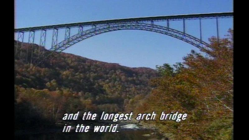 Still image from: Bridge Day West Virginia