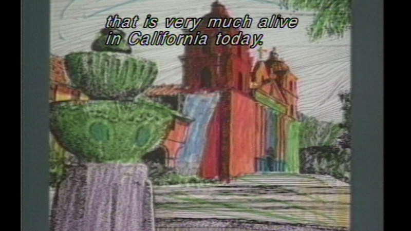 Still image from California's Heritage: The Missions