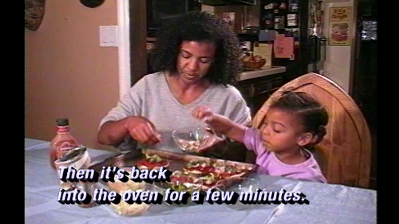 Still image from: Cooking With Kids Makes Healthy Eaters