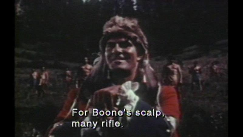 Still image from: Daniel Boone, Trail Blazer