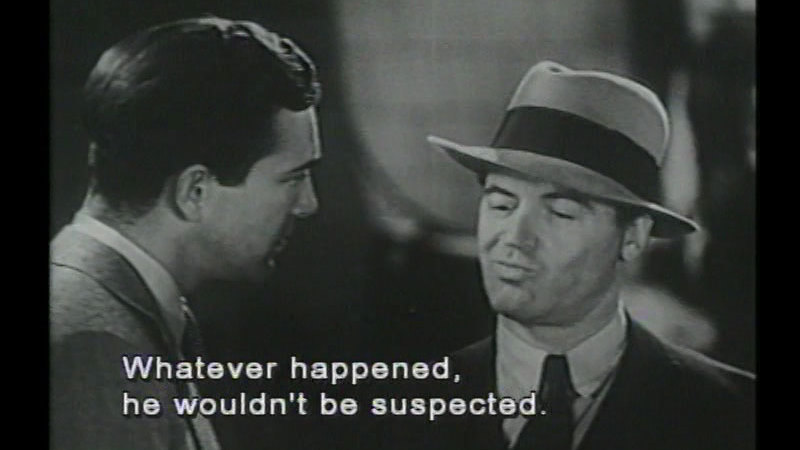 Still image from: The Death Kiss
