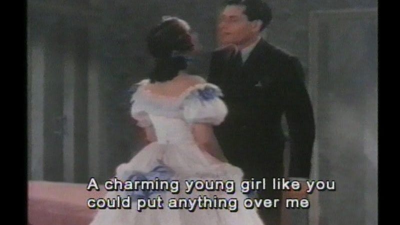 Still image from: The Divorce of Lady X