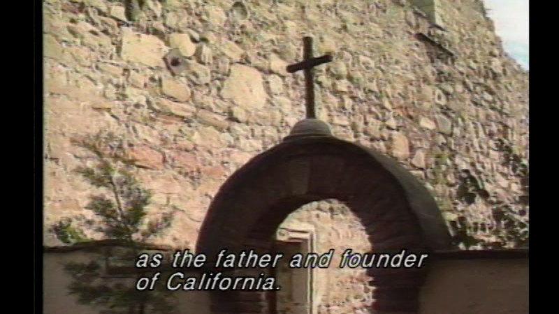 Still image from Father Junipero Serra: Serra's Legacy