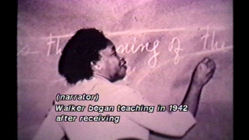 Still image from For My People: The Life And Writing Of Margaret Walker