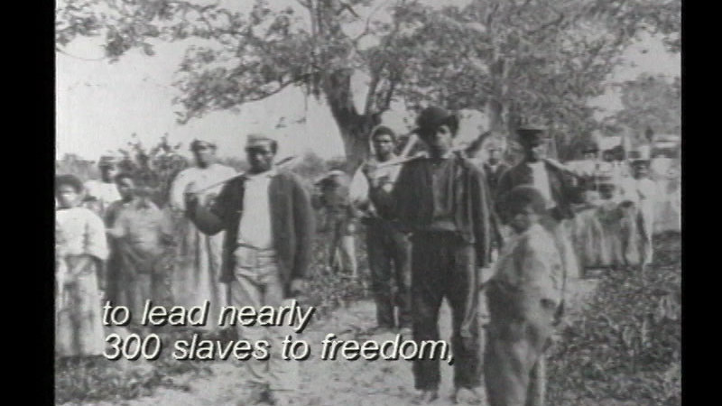 Still image from Harriet Tubman and the Underground Railroad