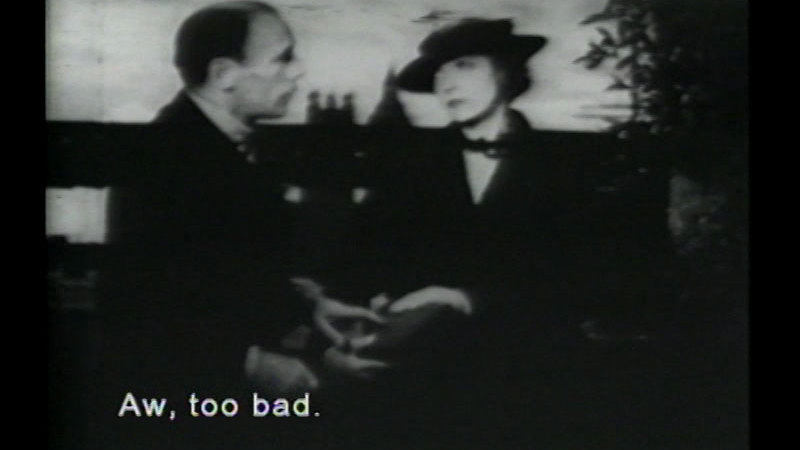 Still image from: His Double Life