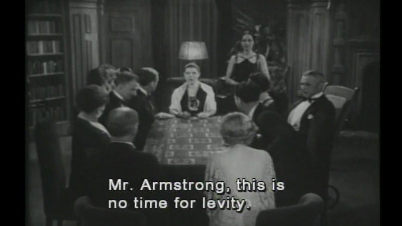 Still image from: House of Mystery