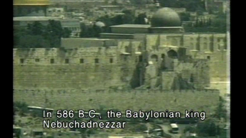 Still image from Jerusalem: Three Faiths...One God