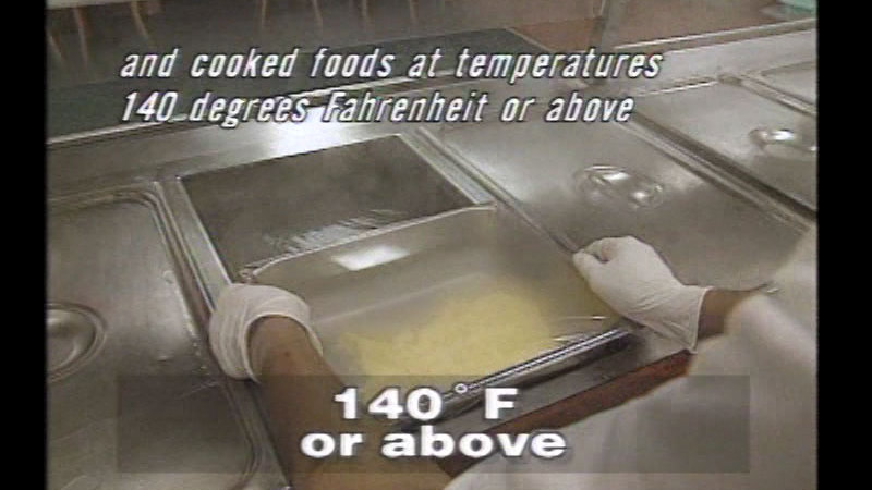 Still image from Kitchen Food Safety