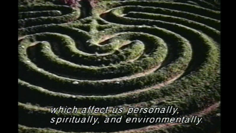 Still image from: Labyrinths: Their Mystery and Magic