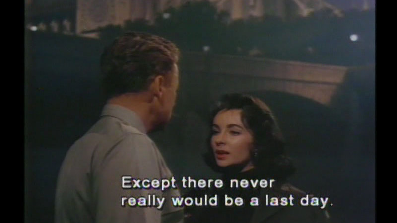 Still image from: The Last Time I Saw Paris