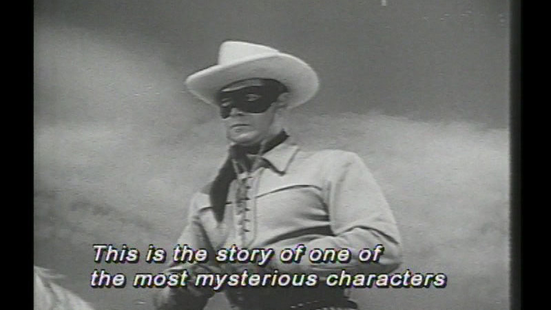 Still image from: The Lone Ranger
