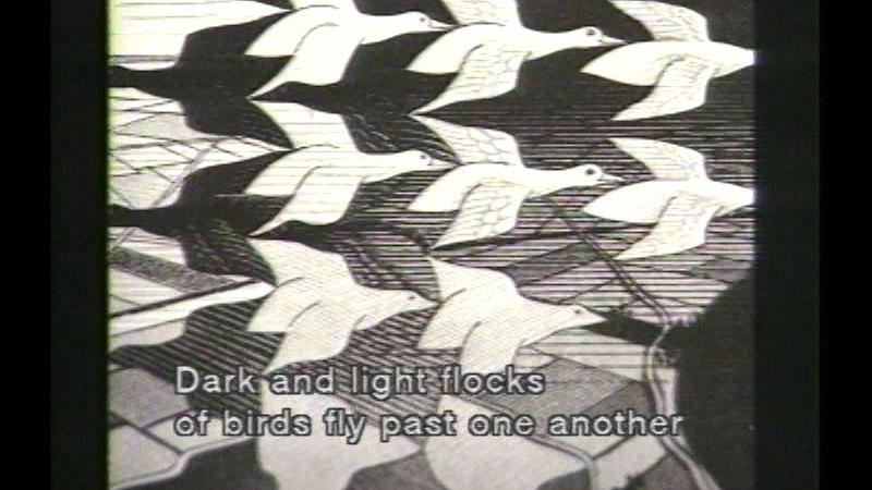 Still image from: M.C. Escher: Master of Graphic Arts