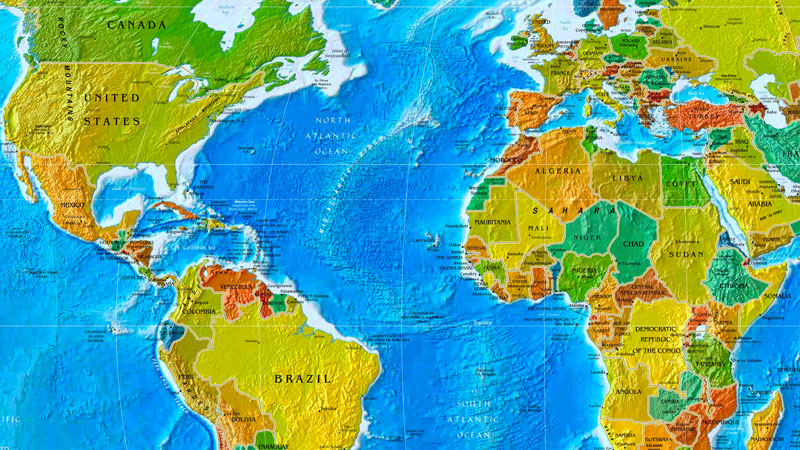 Still image from: Map and Globe Skills
