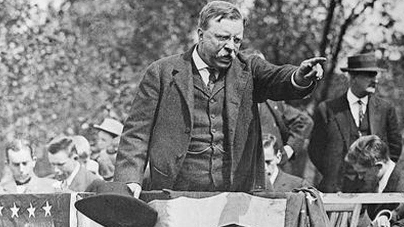 Still image from: National Politics: Roosevelt, Taft and Wilson