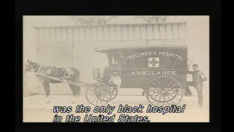 Still image from: One Doctor: Daniel Hale Williams