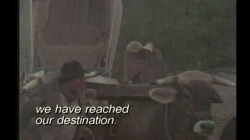 Still image from The Oregon Trail: One Family's Journey