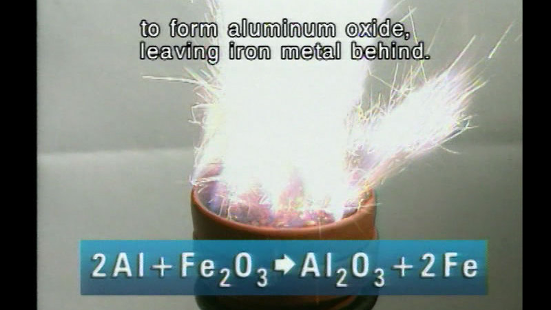 Still image from The Reactivity of Elements