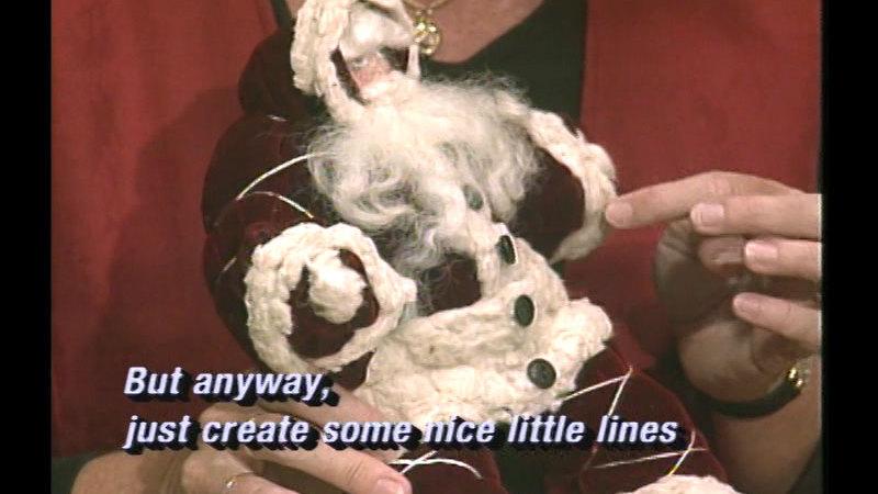 Still image from Santa Crafts Video Vol. 1