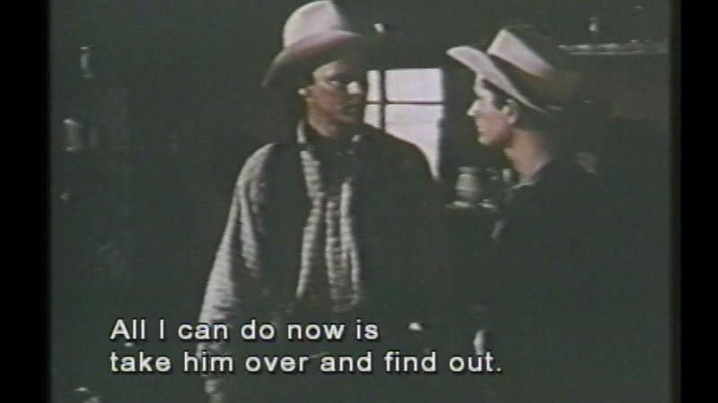 Still image from: The Sundowners