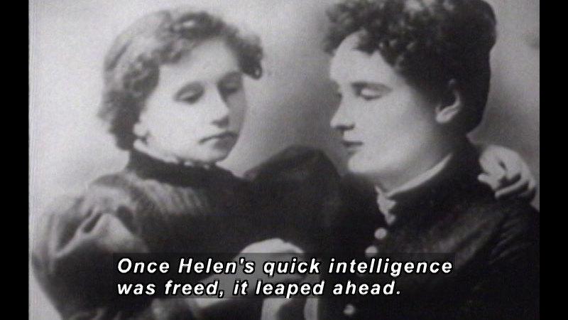 Still image from Helen Keller In Her Story