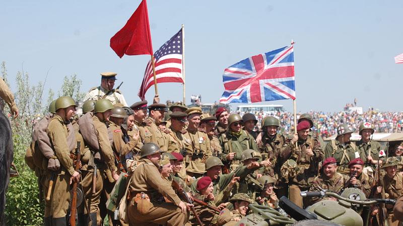 Still image from: World War II: The Allies