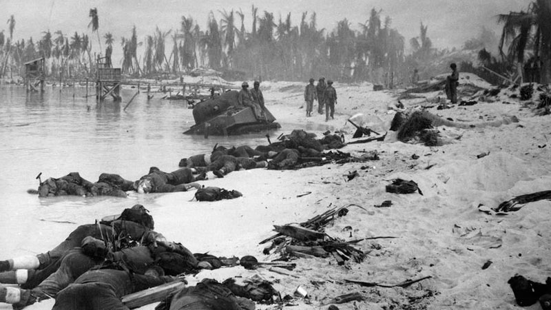 Still image from: World War II: The Pacific