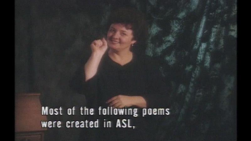 Still image from: The Treasure: Poems by Ella Mae Lentz