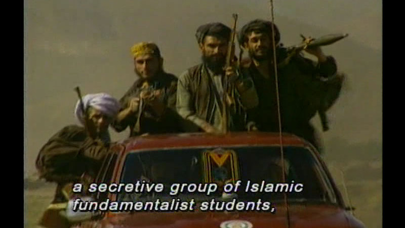 Still image from: Afghanistan: Exporting the Taliban Revolution