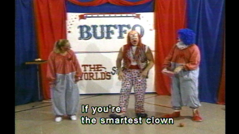 Still image from Buffo: The World's Strongest Clown