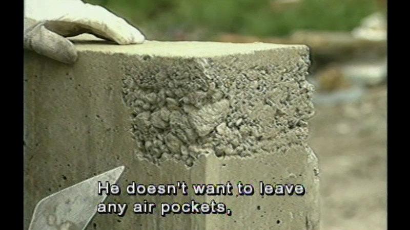 Still image from Concrete Construction - Unit 10: Concrete Repairs