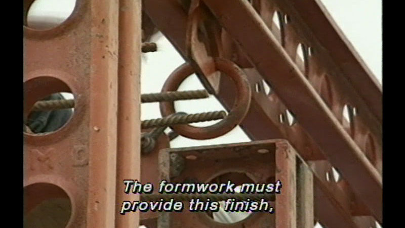 Still image from Concrete Construction - Unit 4: Good Formwork Practice