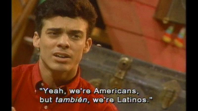 Still image from: Hispanic Americans: Hispanics: The Second Generation