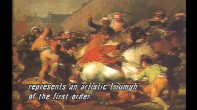 Still image from: The History of Western Art: Passion and Revolution