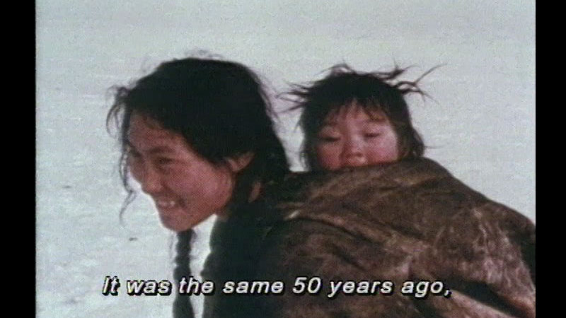 Still image from Inuit Culture