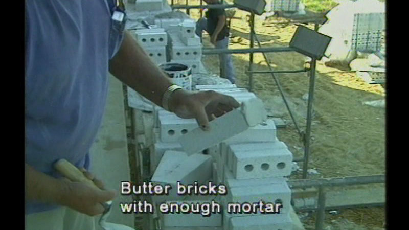 Still image from Masonry For Beginners: Series 1: Program 2