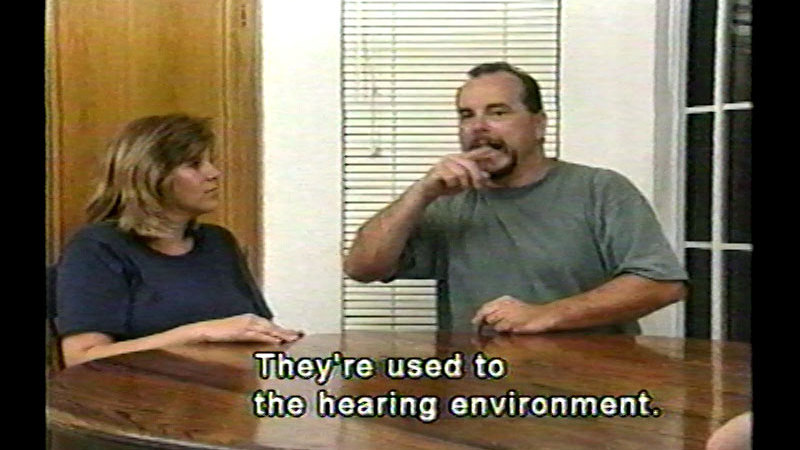 Still image from: Mom and Dad, Your Deaf Child Is Ok...Significant Issues in Raising a Deaf Child