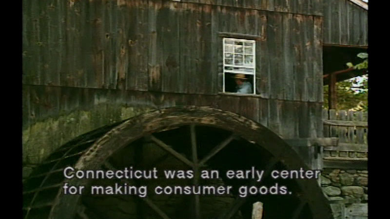 Still image from: New England