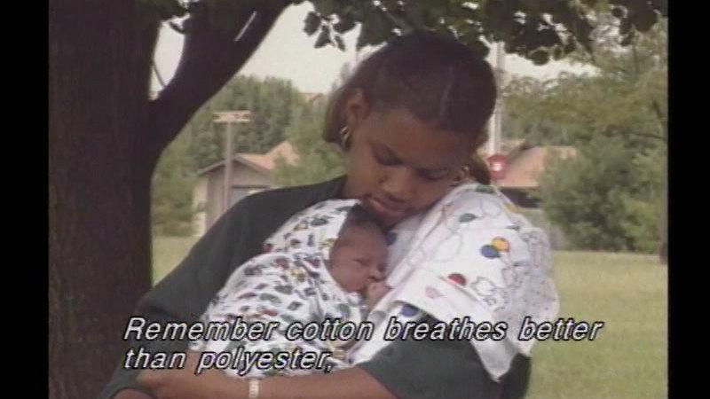 Still image from: Newborn Care