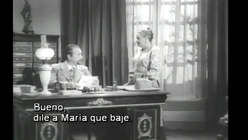 Still image from: They Never Should Have Fallen in Love (Spanish)