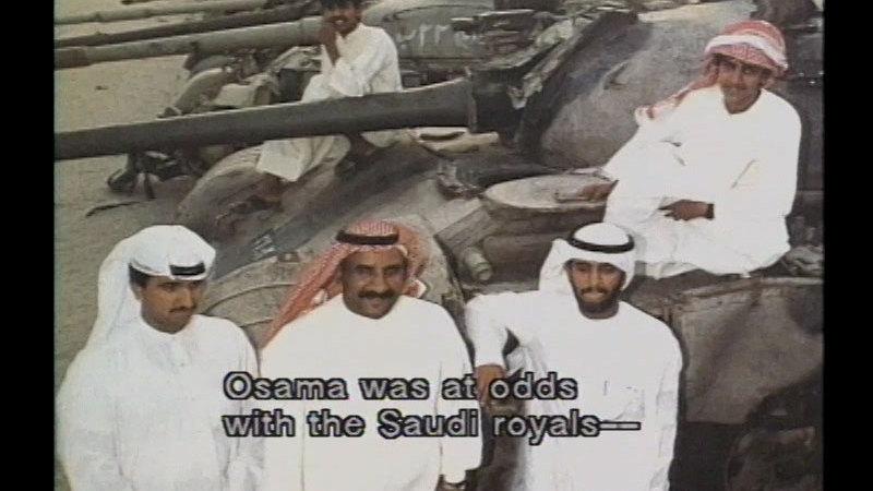 Still image from: Osama Bin Laden