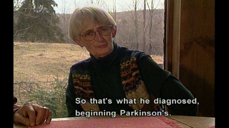 Still image from Parkinson's Disease