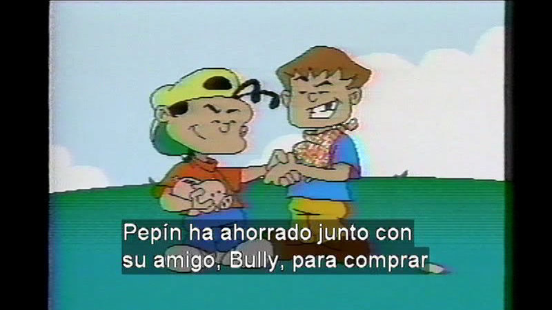 Still image from Pepin: The Adventures Of Pepin And Bully D. Kid (Spanish)