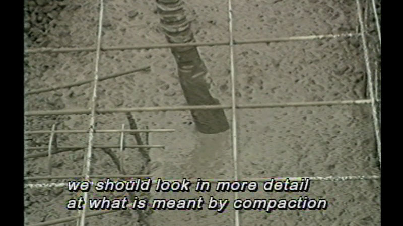 Still image from Concrete Construction - Unit 3: Placing And Compaction