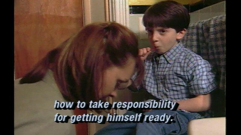Still image from: Raising Responsible Children
