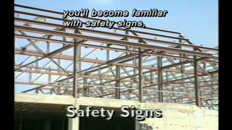 Still image from Concrete Construction - Unit 7: Safety on Site (General)