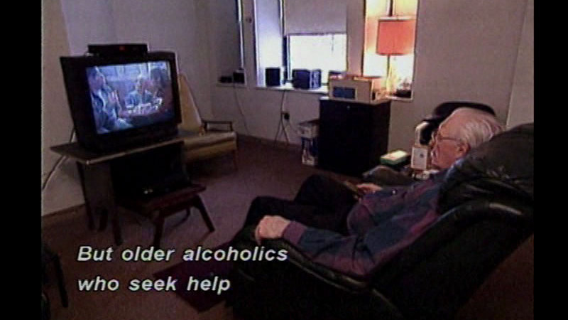 Still image from Substance Abuse In The Elderly