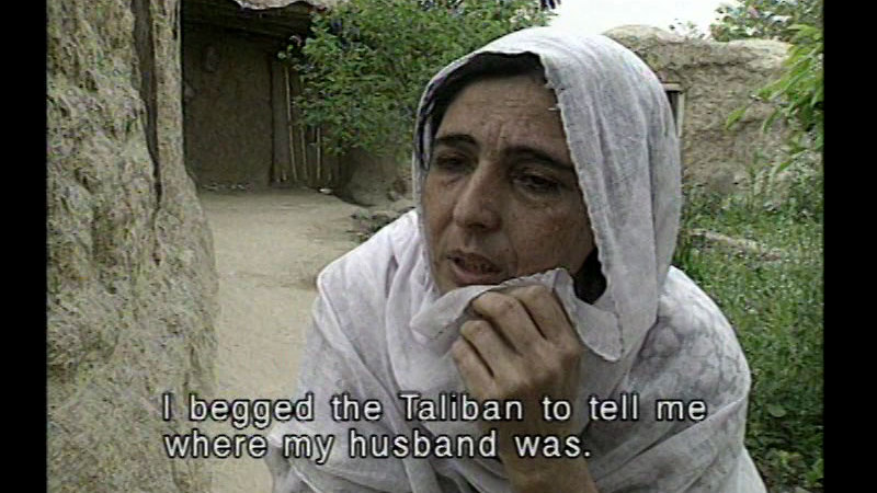 Still image from The Taliban Legacy