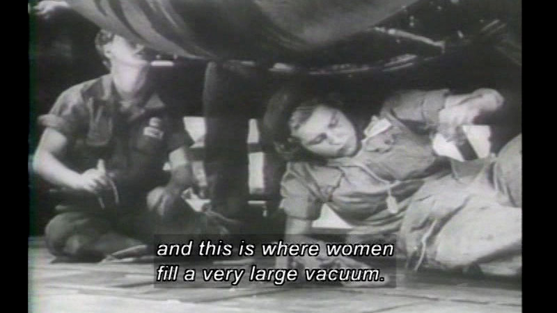 Still image from Women First And Foremost: Volume Two