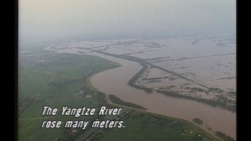 Still image from China: Yangzi River and Three Gorges Dam